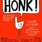 HONK poster red2